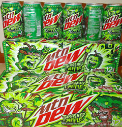 Itand039s Time To Thrash With New Mountain Dew Thrashed Apple.twelve Pack Free Ship
