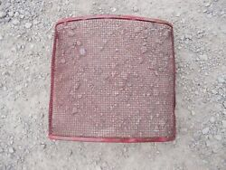 Farmall Cub Ih Rc Rowcrop Tractor Front Nose Mesh Grill Nice Original