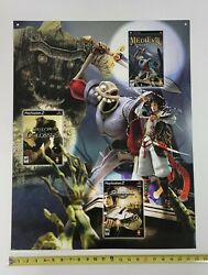 Medievil Resurrection 2005 Video Game Store Display Sign Sony Psp Ps2 Promo