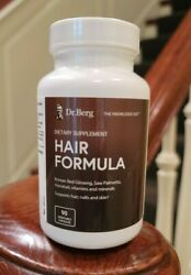 New And Improved Dr Bergand039s Hair Formula 90 Vegetable Capsules 30 More Tablets