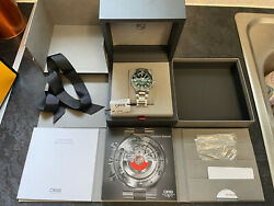 Oris Aquis Date Watch 01 733 7730 4157 43.5mm Green Dial 2019 With Box And Papers