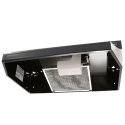 Rl6200 Series 24 In. Ductless Under Cabinet Range Hood With Light In Black