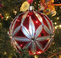 Waterford Holiday Heirlooms Traditional Crimson Rosslare Ornament 155270