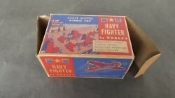 Hubley Toys Diecast Metal Navy Fighter Airplane No. 467 50's Htf Empty Box