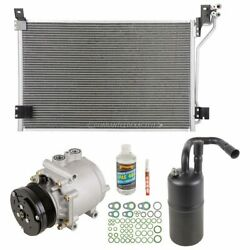 For 2003 Lincoln Town Car A/c Kit W/ Ac Compressor Condenser And Drier Gap