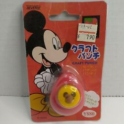Vintage Disney Mickey Mouse Paper Hole Craft Punch