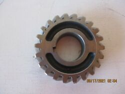 Vintage Ford And Merc Flathead All Steel Crank Timing Gear - 1949-1953 - Free Shpg
