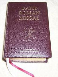 Daily Roman Missal Complete With Readings In One Volume With Sunday And Weekday