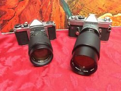 2 Vintage Cameras For Display Only As They May Not Work - Sold As Is Lot 110