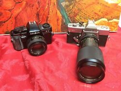 2 Vintage Cameras For Display Only As They May Not Work - Sold As Is Lot 112
