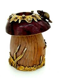 Antique Russian Silver Gilt Mounted ,jasper And Sandstone Match Holder.