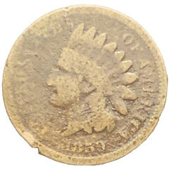 1859 Cn Indian Head Cent, Better Date Coin | Free Shipping 8407