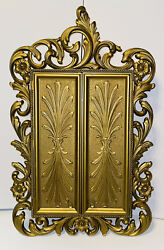 Vintage 70's Sarah Coventry Inc. Gold Jewelry Wall Cabinet W/mirror Mint
