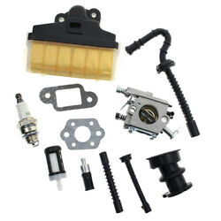 Air Filter+spark Plug+ Fuel/ Oil Line For Stihl 023 025 Ms230 Ms250 Chainsaw