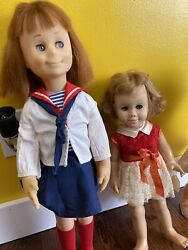 Lot Of 3 Vintage Mattel Chatty Cathy Charming Doll Xtra Clothes Records 1959 60