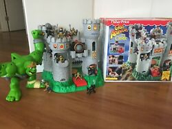 Vintage 1994 Fisher-price Medieval Great Adventures Castle With Ogre And Knights