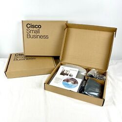 Lot Of 3 New Cisco Spa303-g2 3 Line Ip Phones W/ Power Adapter Business Ip Phone