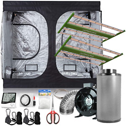 Cdmall Alphapar Indoor Grow Kit 120and039and039x60and039and039x78and039and039 Grow Room Kit+full Spectrum Led