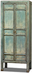 China Furniture Online Elmwood Chinese Armoire Mandarin Style In Distressed Lig