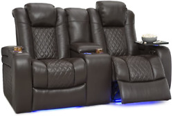 Seatcraft Anthem Home Theater Seating - Top Grain Leather - Power Recline Lovese