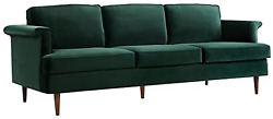 Tov Furniture The Porter Collection Contemporary Style Velvet Upholstered Living