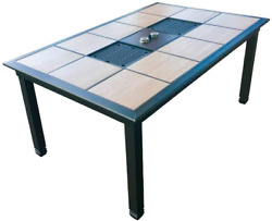 Generations Patio Table Grill   Korean Bbq   Raclette Style Outdoor Patio Table