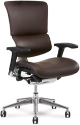 X-chair X4 Executive Chair Brown Leather