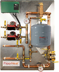 2-zone Preassembled Radiant Heat Distribution/control Panel System