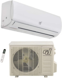 Continental Dynamics 292872 Ductless Air Conditioner Inverter Split System 12k B