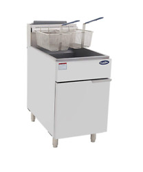 Cookrite Atfs-75 Commercial Deep Fryer With Baskets 5 Tube Stainless Steel Natur