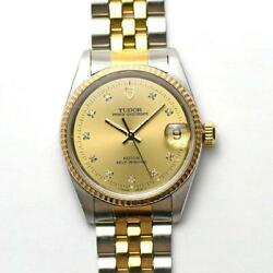 Tudor Oyster Date 72033 Automatic Stainless Steel Men's Watch [u0920]