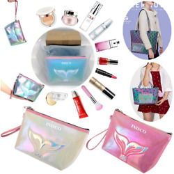 3 Piece Set Small Cosmetic Bag for PurseSmall Makeup Bags for WomenSmall Pouch $14.18