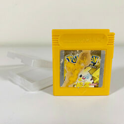 Pokemon Yellow Nintendo Gameboy Color Authentic New Battery Tested And Saves
