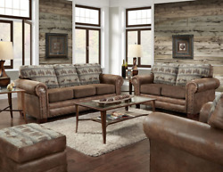 American Furniture Classics 4 Piece Set Including Sofa, Chair, Loveseat And Otto