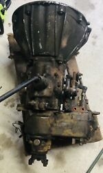 Jeep Bw 3 Speed Transmission T15 And Dana 20 Transfer Case W/ Amc Bell Housing