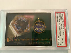 Harry Potter Prop Card Sorcerers Stone Ss Chocolate Frog /127 Honeydukes Variant