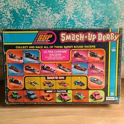 Smash Up Derby Kenner Ssp 1973 With Sonic Sound