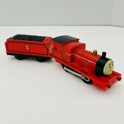 Thomas And Friends Trackmaster Motorized And Talking Train James R9627 Tested