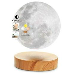 Levitating Moon Lampfloating And Spinning In Air Freely With 3d Printing Led