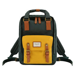 Himawari Backpack Bags School Office Casual Water Resistant Green Fashion $52.20