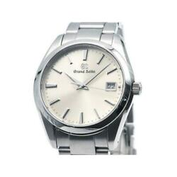 Grand Seiko Sbgv221 9f82-0af0 Heritage Collection Silver Dial Menand039s Watch U0921