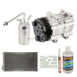 For Ford Mustang 1999-2004 Oem Ac Compressor W/ Condenser Drier Gap