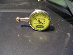 Vintage Us Model A Ford Tire Gauge Beautiful Display Quality Antique Tool Part