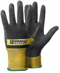 TEGERA 8802 INFINITY safety glove waterproof palm for assembly work oil and g...
