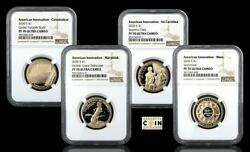 2020-s 4 Coin American Innovation Proof Set Ngc Pf70 Ultra Cameo