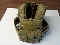 Crye Precision Avs Carrier System Multicam Small W/ Ton Of Extra Crye Pouchs
