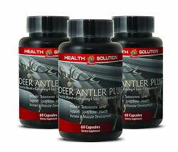 Boost Sexuality Supplements - Deer Antler Plus 550mg - Ginseng Seeds 3b