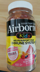 Airborne Kids Immune Support Gummies Assorted Fruit 63 Each Exp 11/2022 Free Shi