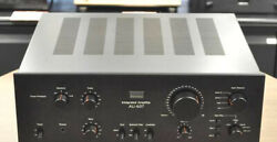 Sansui Integrated Amplifier Au-607 Ac100v Working Properly 6989