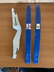 Bear Archery 76er Take Down Blue And White Recurve Bow Deluxe 64 Custom 58 50